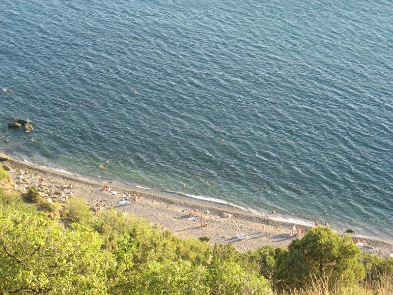 балаклава серебряный пляж