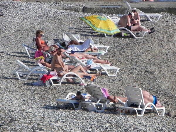 Пляж Зеленый Гай