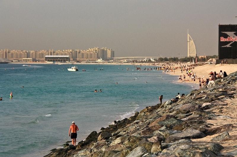 Пляжи Дейры