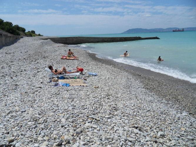 пляж кабардинка 2015