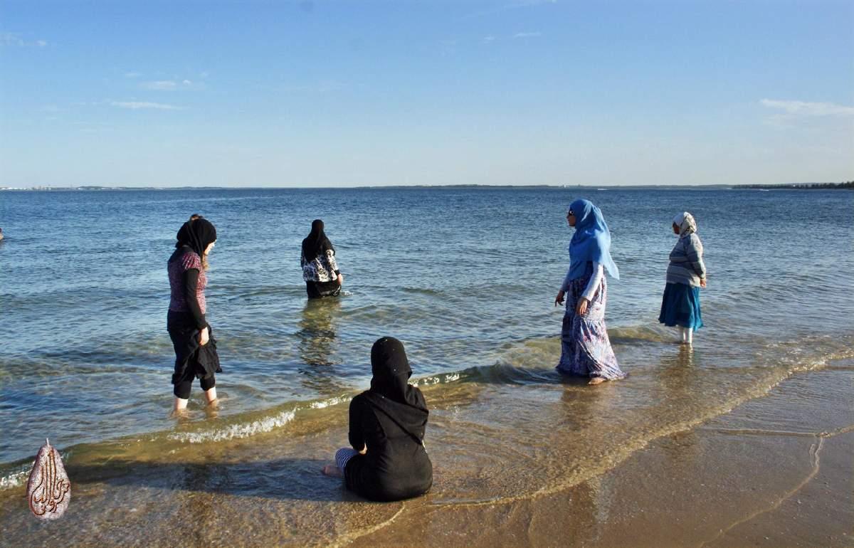 Пляж Горянка в Махачкале