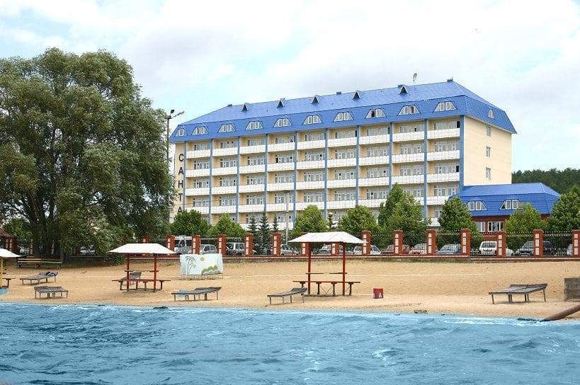 Пляжи Боровое-Матюшино