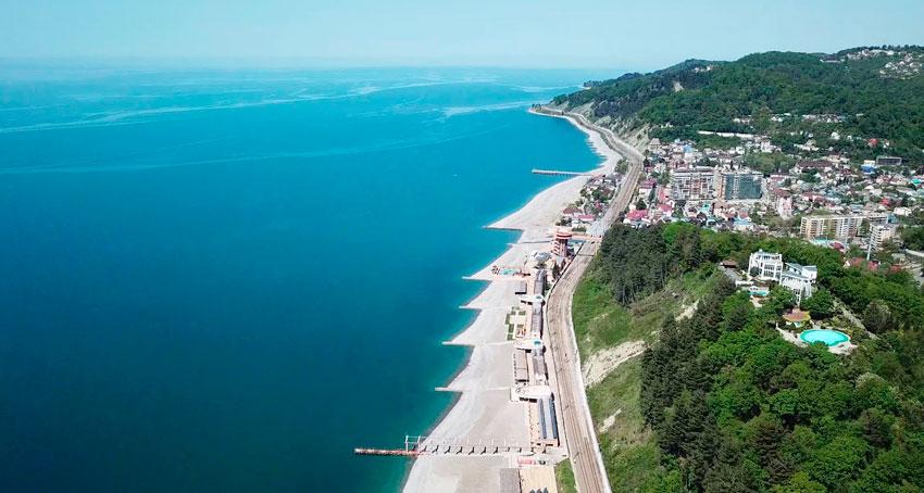 побережье поселка Дагомыс