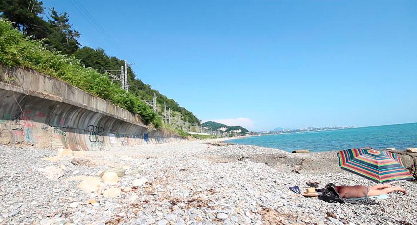 нудистский пляж Дагомыс