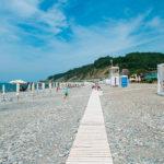 пляж поселка Дагомыс
