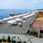 пляж комплекса «Дагомыс