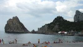 Пляжи Симеиза в Крыму