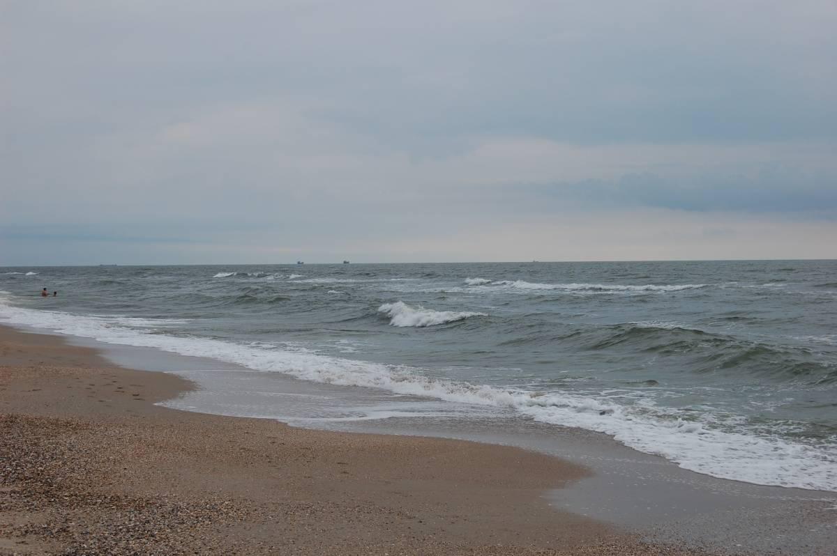 Затока, Одесса, пляж