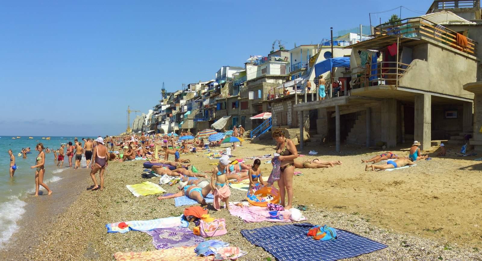 Пляж крым морское фото пляжей и набережной