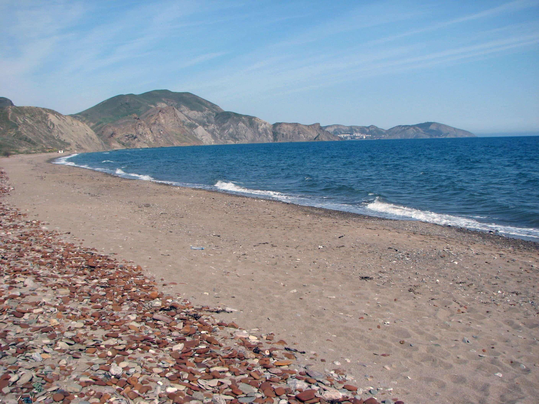 Мосркое - пляжи