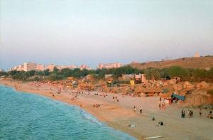 Пляжи Щелкино - отличный отдых в Крыму