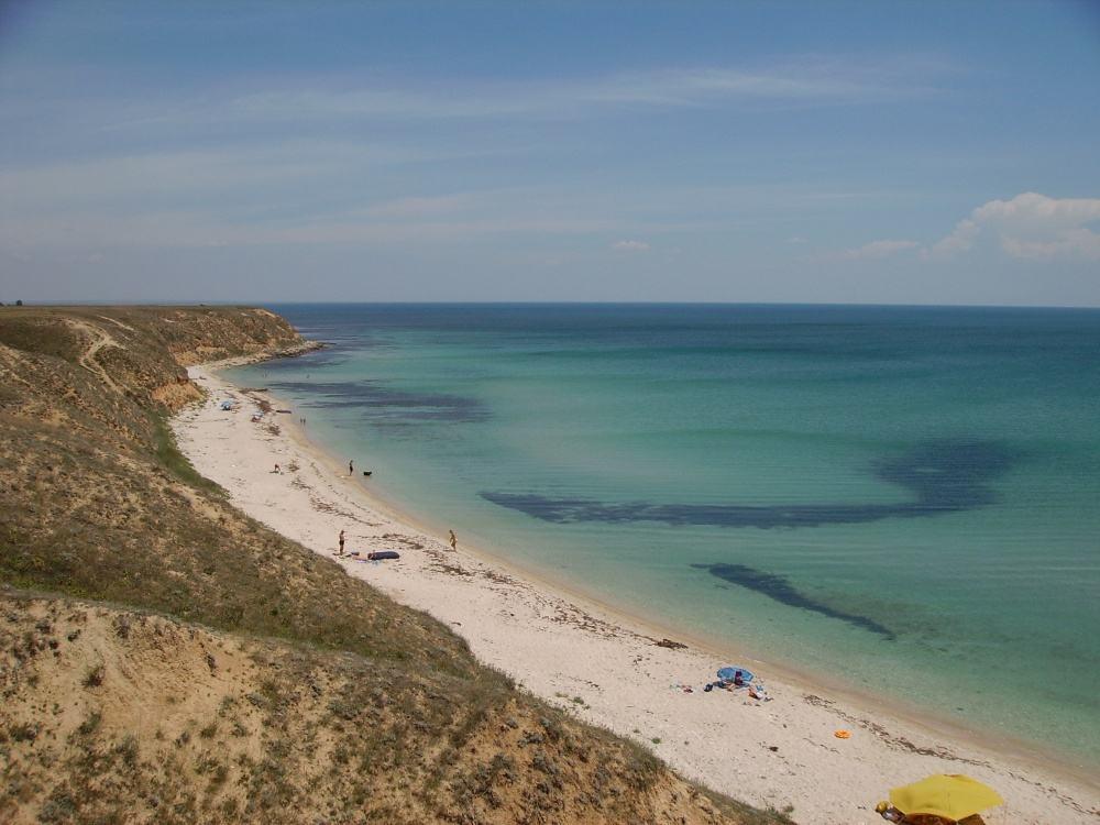 Дикий пляж в Окуневке1
