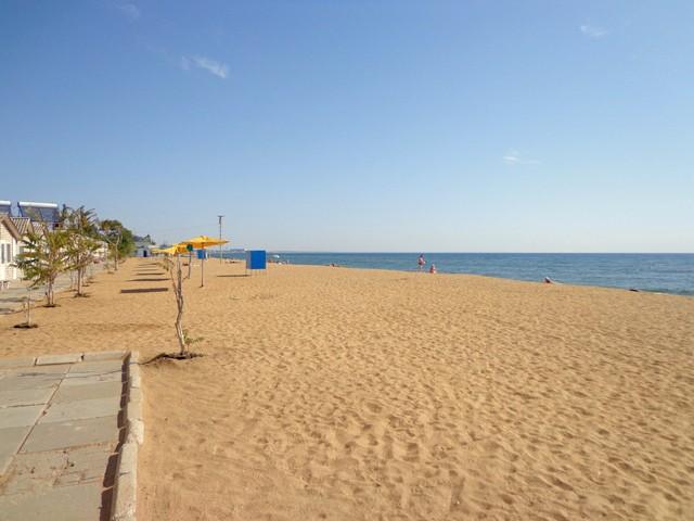 Пляжный отдых в Феодосии