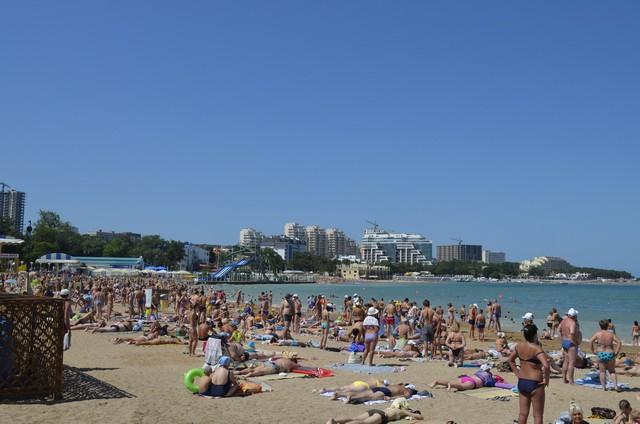 Лучшие пляжи в Геленджике