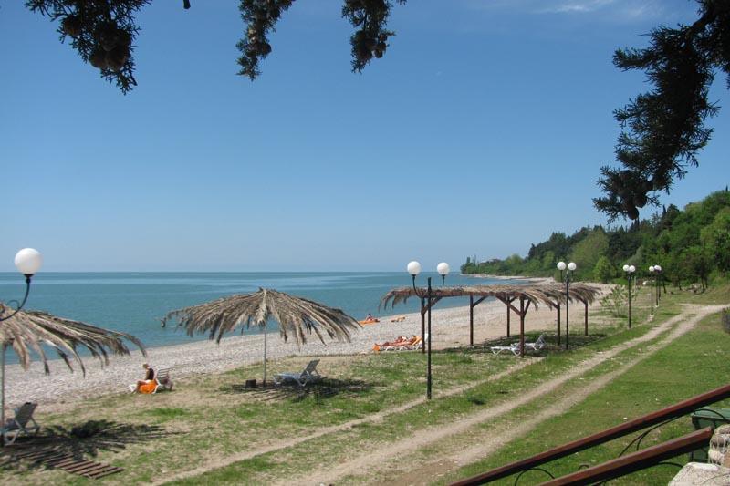 Пляж курортного комплекса «Камарит»