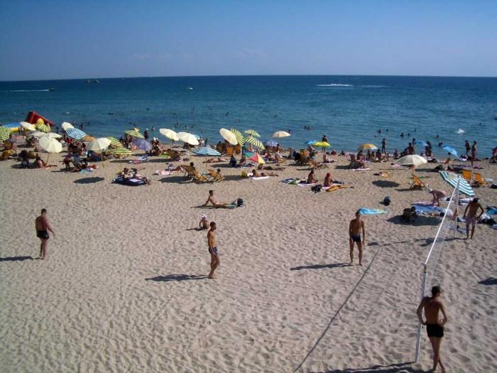 Песчаные пляжи Черноморского побережья России