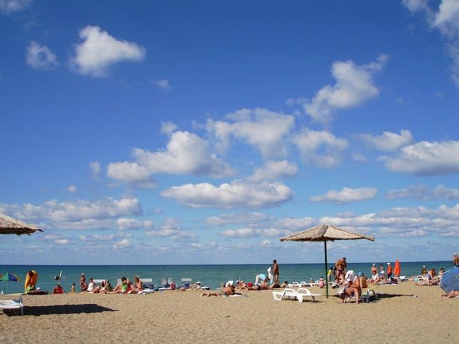 Пляжный отдых в Саках