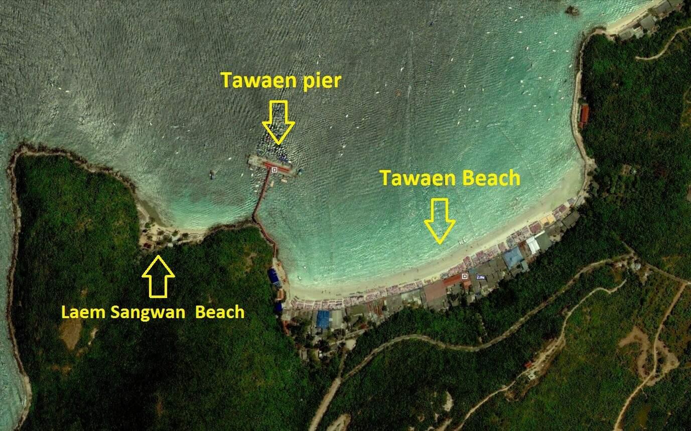 Как попасть на пляж Сангван