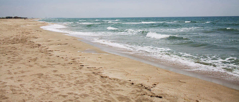 Беляус - песчаный пляж в Крыму