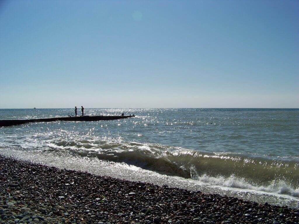 Фото пляжа Автомобилист в Кудепсте