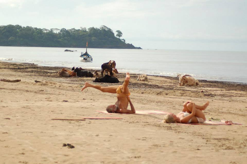 Фото с пляжа Калангут