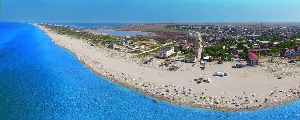 Отдых на пляжах в Поповке