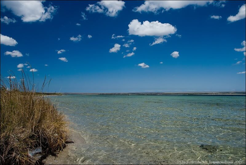 Озеро Донузлав на фото
