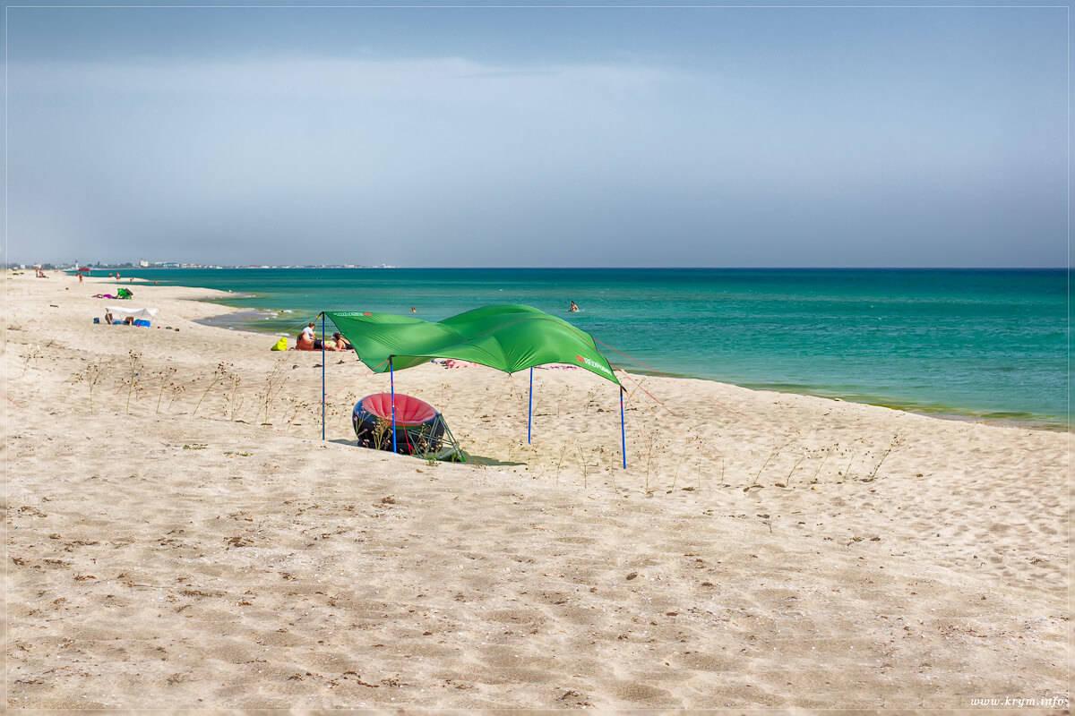 Пляж Беляус в Крыму