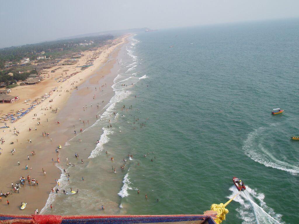 Пляж Калангут на Гоа