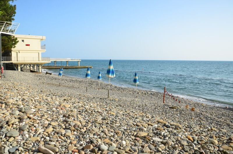 Пляж Кудепсты