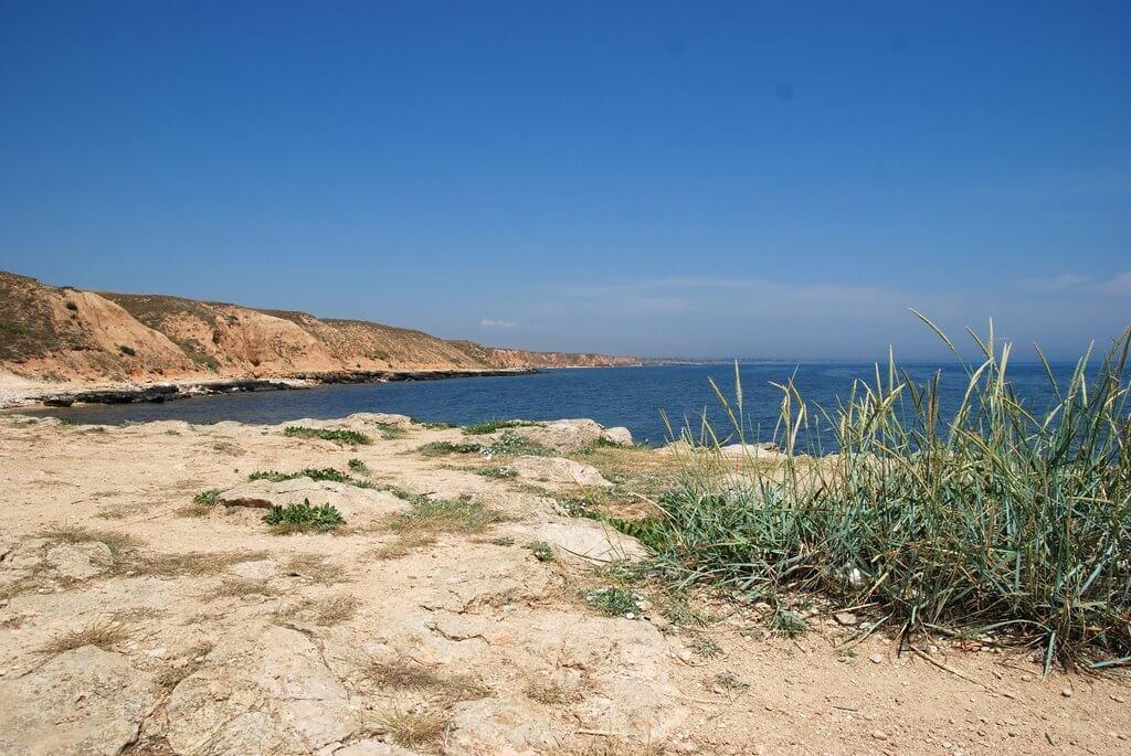 Пляж Марьино в Крыму