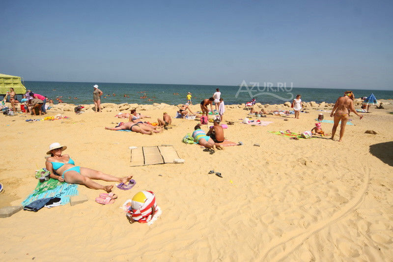 Пляж Старая пристань