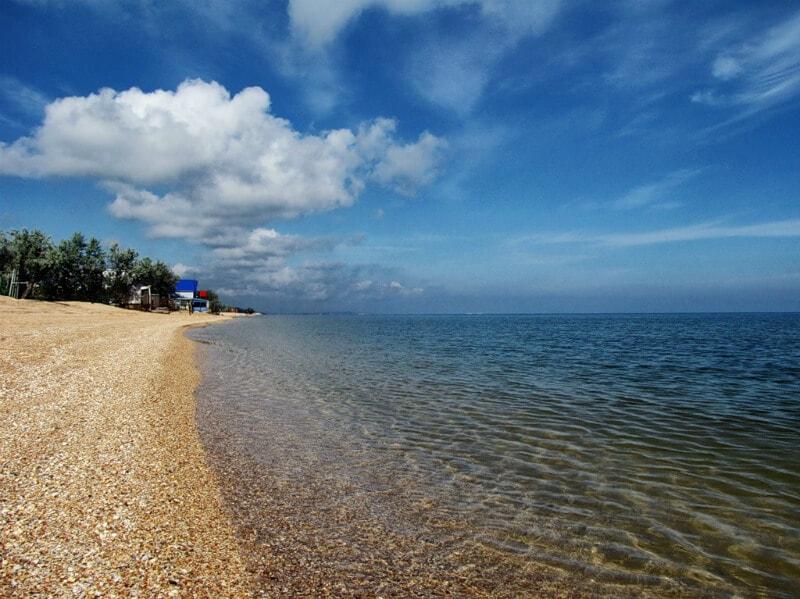 Тамань - где лучший пляж