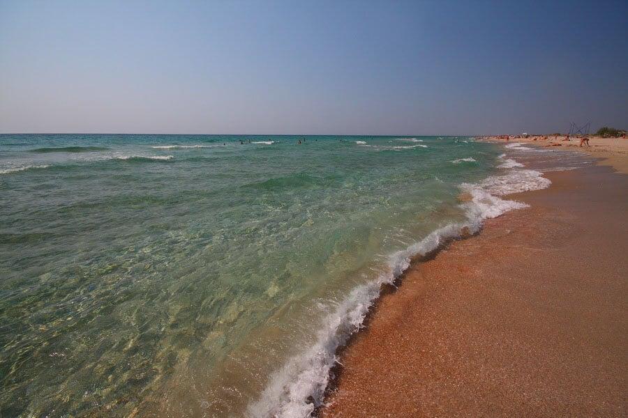Золотые пляжи Поповки
