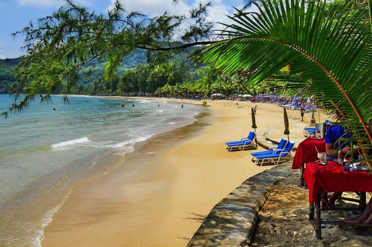 Пляж Камала Пхукет фото
