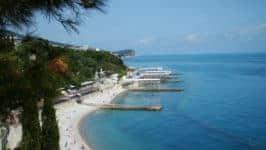 Пляжи Кореиза