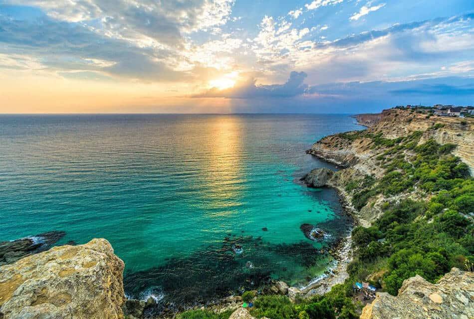 красивые картинки пляжей крыма этой