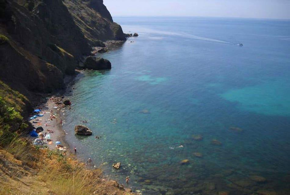Царский пляж мыс Фиолент