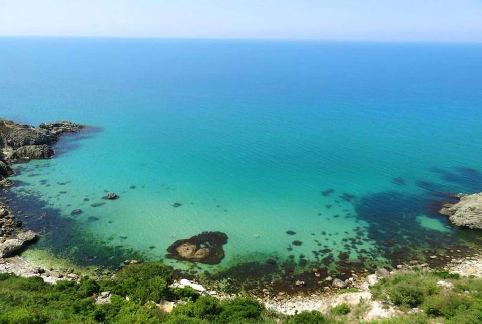 Пляжи Маяка Фиолент