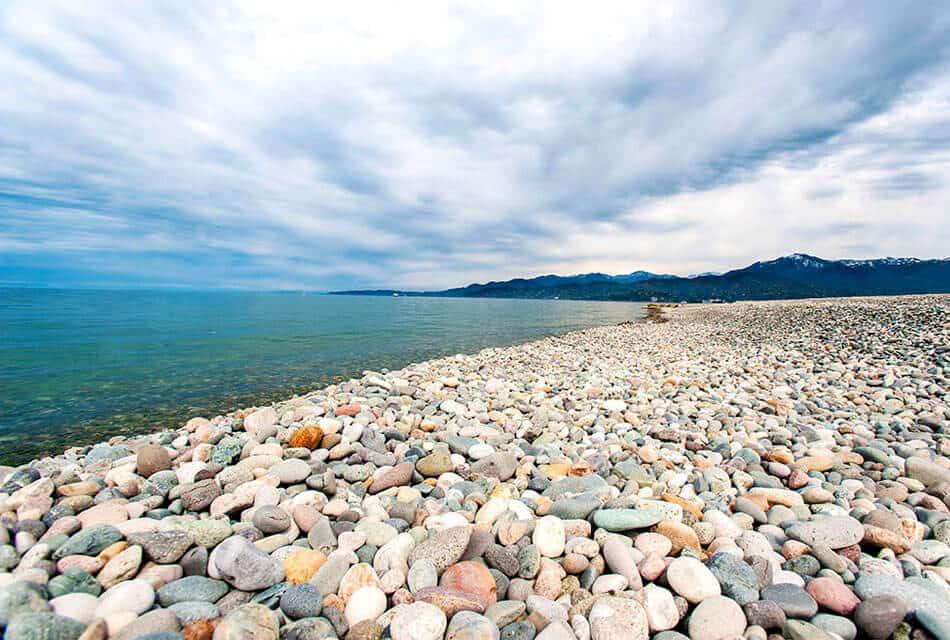 пляже Гонио