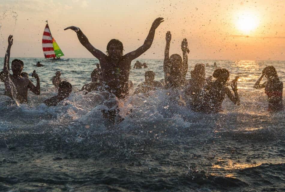 Отдых га пляжах Анаклии
