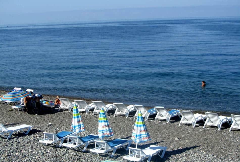 Пляж Анаклии