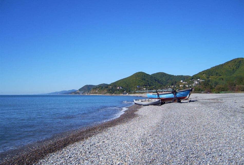 Дикий пляж Головинка