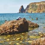 Яшмовый пляж мыс Фиолент