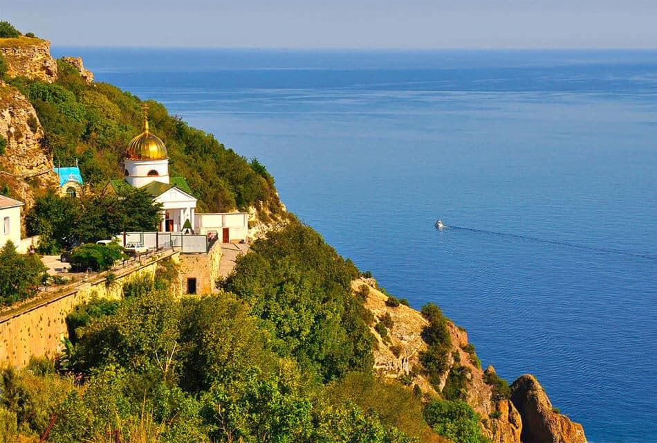 Георгиевский монастырь мыс Фиолент