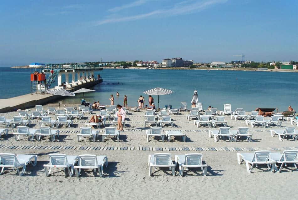 Комфортабельный пляж Омега в Севастополе