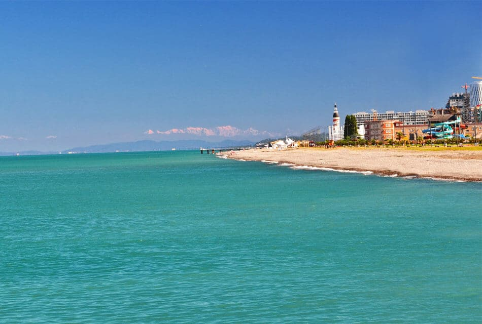 Центральный пляже Батуми