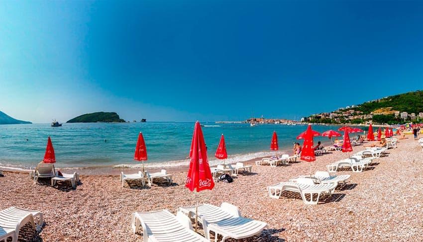 Slovenska пляж Черногория