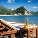отдых на пляже Словенский