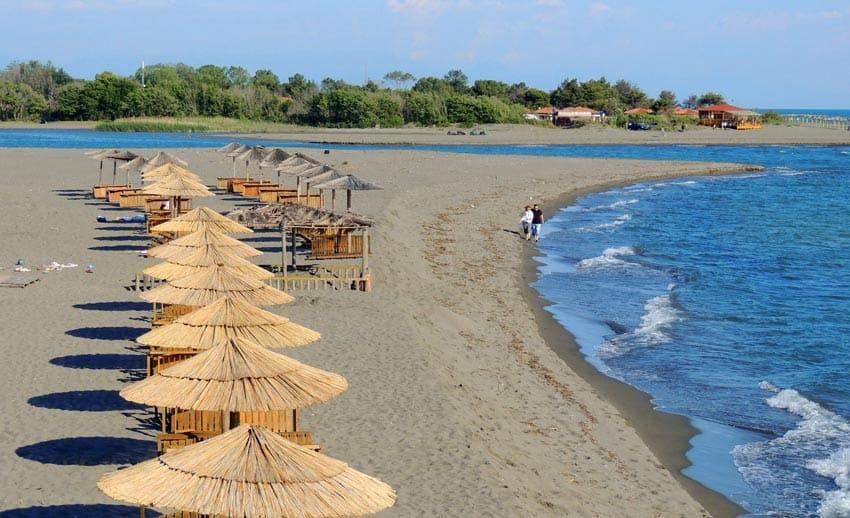 пляж Ада Бояна Черногория